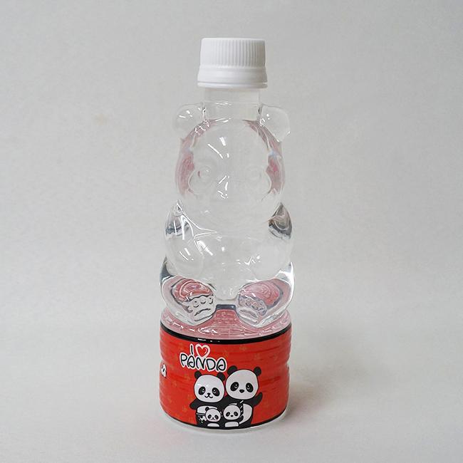 パンダ型ペットボトル