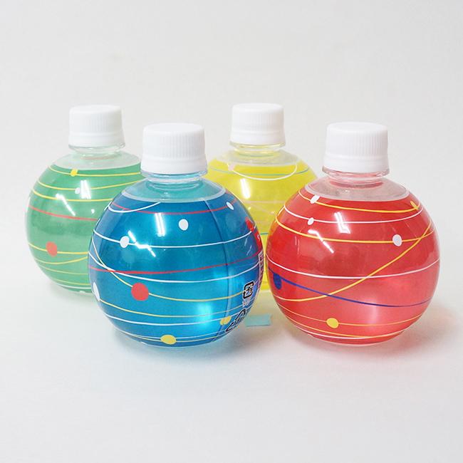 丸型ペットボトル
