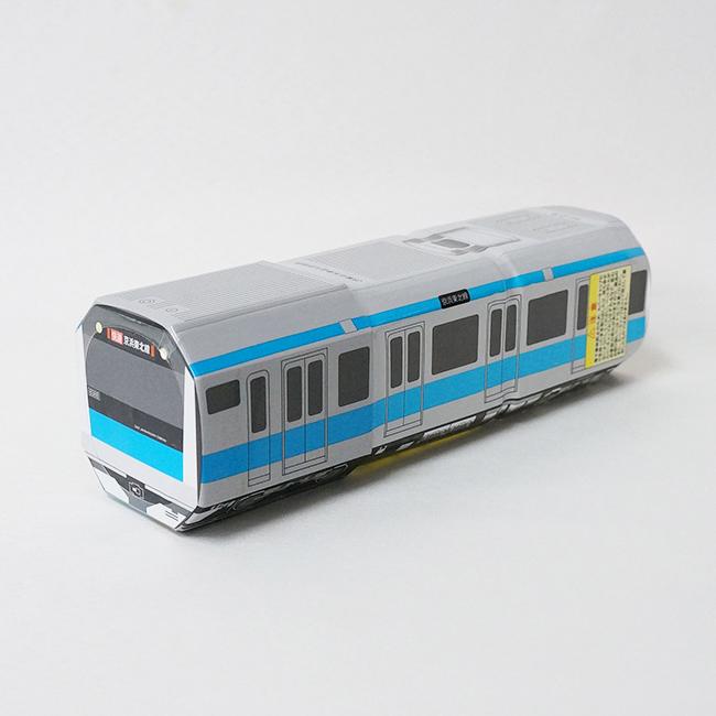 電車型ペットボトル