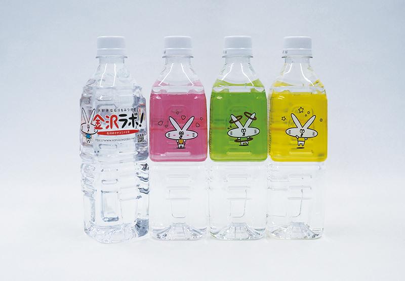 展示会での販促効果は予想の3倍!カラフルなデザインが目を引く、オリジナルラベルの天然水の導入事例